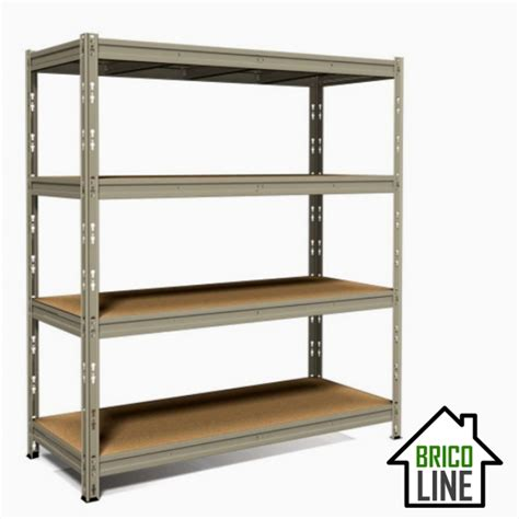 brico scaffali metallo scaffale legno metallo