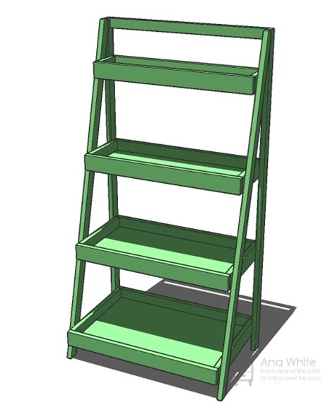 Step Ladder Shelf by White Painter S Ladder Shelf Diy Projects