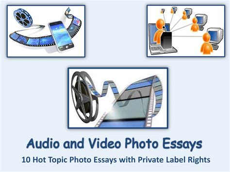Audio Visual Education Essay by 10 Audio And Photo Essays Wow Profit Packs