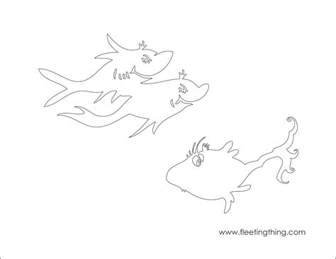One Fish Two Fish Coloring Page one fish two fish coloring pages az coloring pages