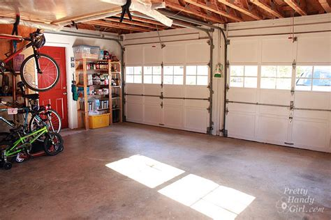 Inside Garage Door by Garage Workshop Makeover Reveal Thanks To The