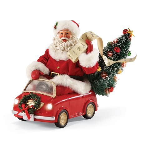 smart car santa  landmcollectiblescom