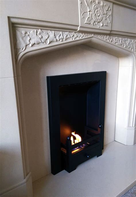 converting an gas fireplace with a diy bio ethanol