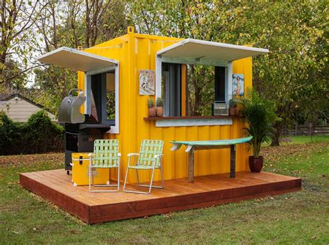 Small Home Business Shipping Shipping Container Cafe