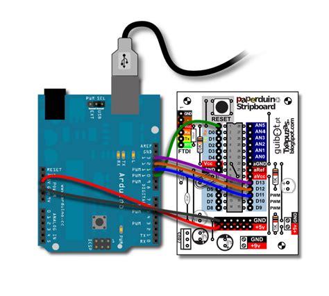 arduino tutorial bootloader txapuzas electr 243 nicas paperduino arduino stripboard