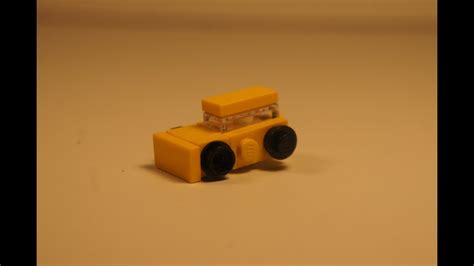 Micro Block Transformer Bumble Bee how to build a micro lego bumblebee