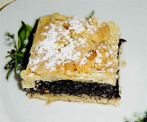 schlesischer kuchen schlesischer mohn streusel hefeteig kuchen rezept