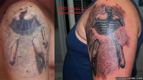 tattoo fail before and after pin tatuaje om picture on pinterest