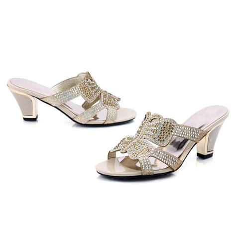 fashion rhinestone sandals for new arrival 2014