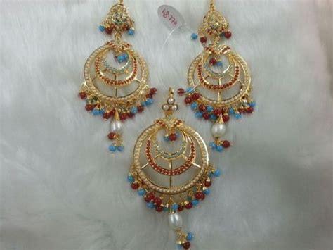 designer gold plated earrings in amritsar punjab india