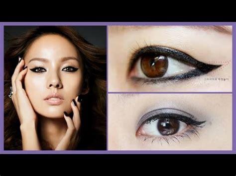 eyeliner tutorial with marker the perfect winged eyeliner tutorial using gel liner