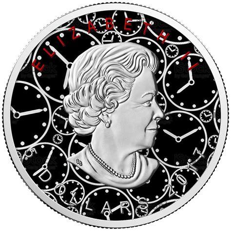 1 oz 2017 canadian maple leaf silver coin maple leaf clock 2017 canadian silver maple leaf 1 oz
