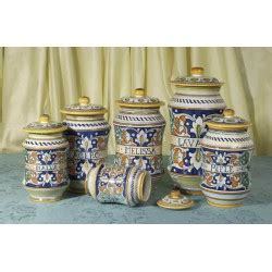 vasi ceramica deruta albarelli vasi e barattoli antica farmacia deruta