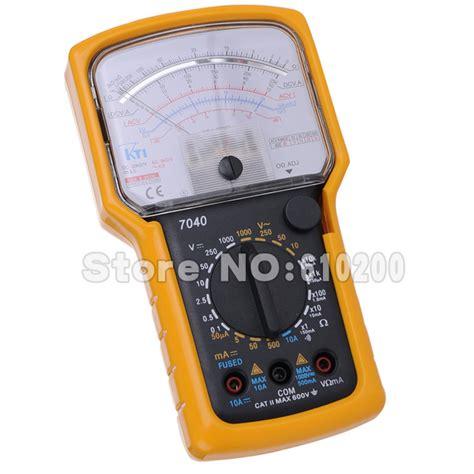 diode test analog multimeter free shipping brand kti high precision high sensitivity pointer multimeter ohm test meter analog
