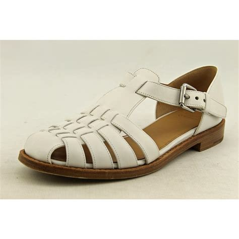 Kelsey Shoes Import 14 church s kelsey womens leather dress sandals shoes used ebay