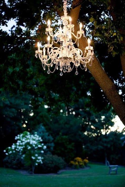 Garden Chandelier Outdoor Chandelier