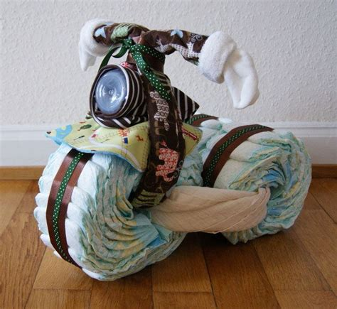 E Motorrad Diy by Diy Babygeschenk Windel Motorrad Baby