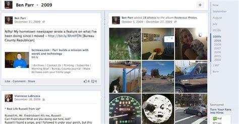 facebook timeline mashable facebook timeline here s what it looks like video