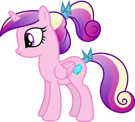 mlp princess cadence my little pony princess cadence as a filly