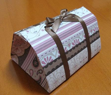 and simple origami gift box 2018