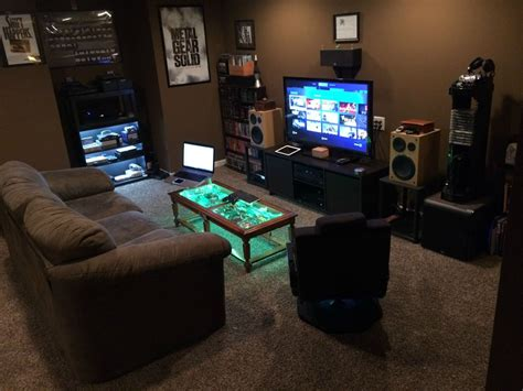 computer gaming room my battlestation best game rooms and men cave ideas