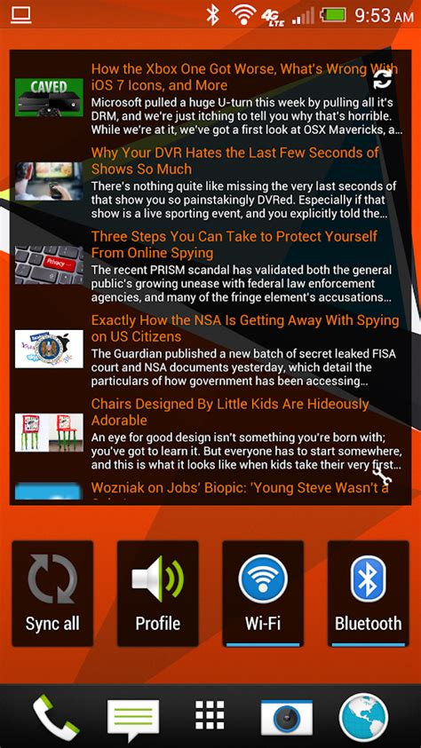 news widgets for android simple rss widget android apps on play
