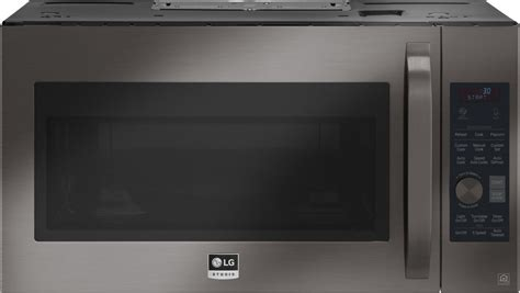 Microwave Oven G 8 lsmc3089bd lg studio 1 7 cu ft the range