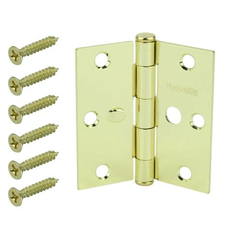 barton kramer white screen door hinge 335w the home depot