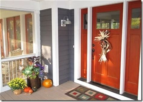 blue house orange door 25 best ideas about orange front doors on pinterest