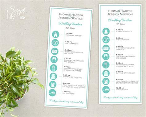 32 Wedding Timeline Templates Free Sle Exle Format Download Free Premium Templates Wedding Event Template