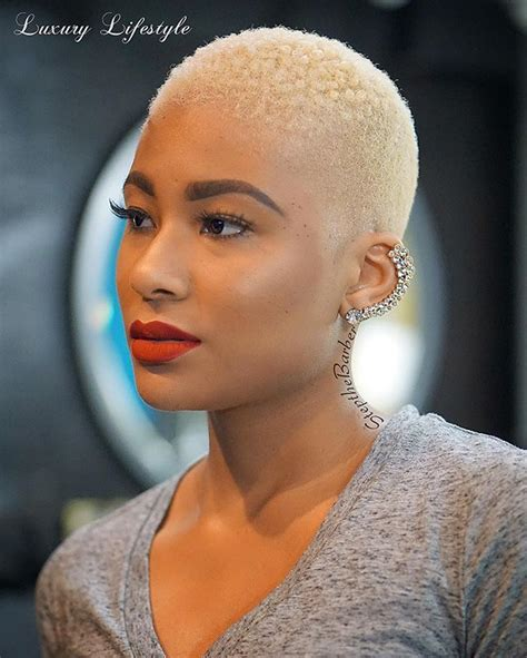 black women with shaved haircuts and color 398 best big chop inspiration images on pinterest