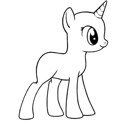 unicorn pony coloring pages my little pony unicorn coloring pages getcoloringpages com