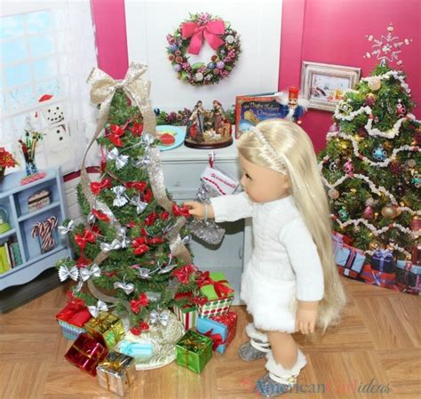 american girl doll diy christmas tree american girl