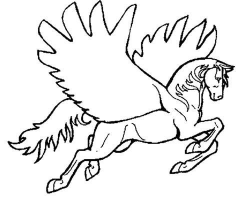 coloring pages of flying horse flying horse pages coloring pages