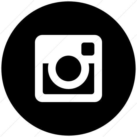 black instagram icon free black social icons 12 social media icons black circle images free social