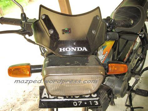 Visor Honda Tiger Asli bikin sangar tang honda win mazpedia