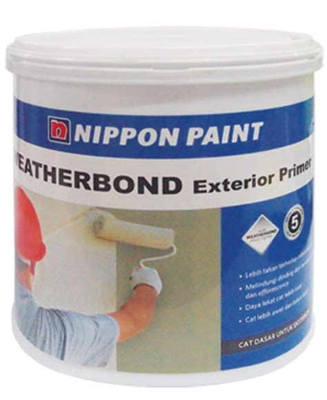 Cat Acrylic Anti Air nippon paint weatherbond exterior primer putra idaman