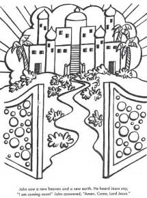 a new heaven and earth use glitter coloring pages