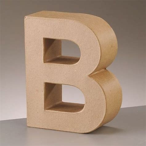 How To Make Paper Letters 3d - 3d letters paper mache signs papp letters numbers