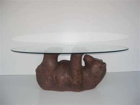 round or square coffee table bear cub cocktail table oval round square or rectangle