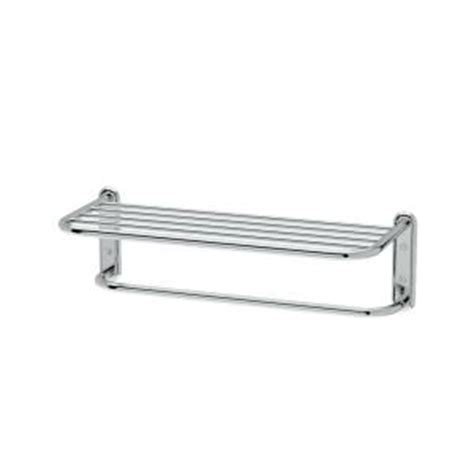 Towel Racks Home Depot by Gatco Hotel Style Towel Rack In Chrome 1537 The Home Depot