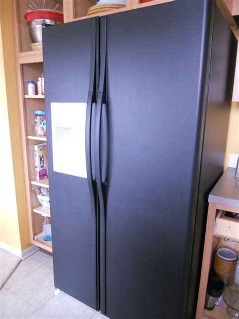 Can You Use Chalk Paint On Kitchen Cabinets painting a refrigerator suna s house