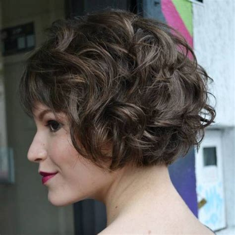 50 different versions of curly bob hairstyle