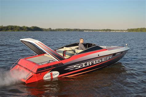 boat radar manufacturers the chris craft stinger arch over troubled waters