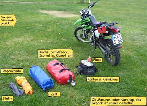 Motorrad Reisen Gep Ck by Reise Nach Masuren