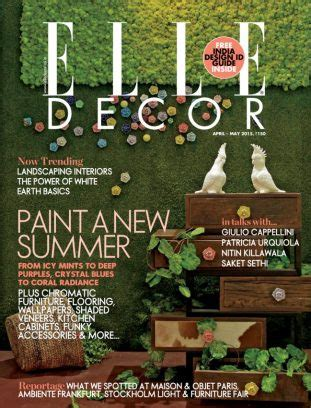 winfield home decor ltd elle decor india magazine april may 2015 issue get