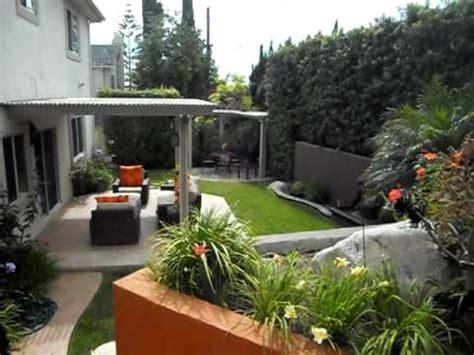 como decorar el patio de frente ideas para un jardin youtube