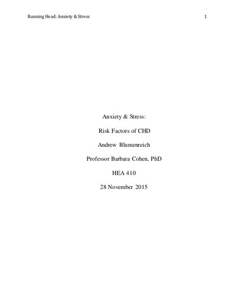 anxiety research paper stress anxiety research paper