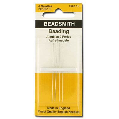 beading needle size chart your guide to buying the right size beading needle ebay