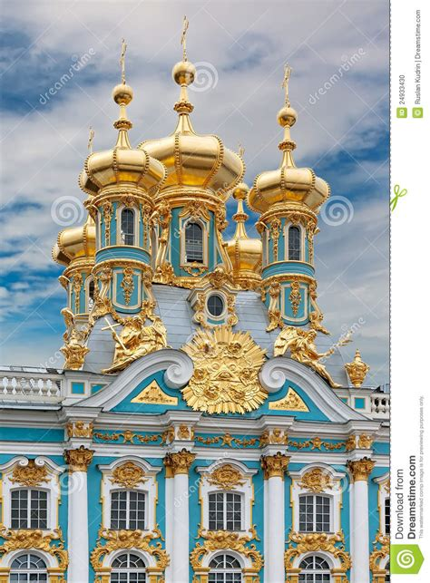 Dome Floor Plans catherine s palace in tsarskoe selo russia stock photo